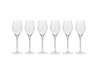 Набор бокалов для игристого вина Krosno Гармония. Просекко 280мл, 6 шт