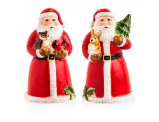 "Набор для соли и перца 3D Certified Int. ""Магия Рождества. Санта"" 10см"