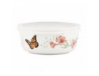 Емкость для хранения продуктов с крышкой Lenox Бабочки на лугу 600мл