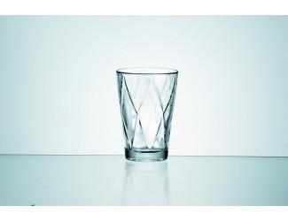 Набор стаканов 4шт 230мл Джой клетка Soga Glass E3187W