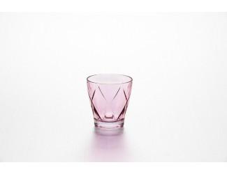Набор стаканов 4шт 270мл Джой клетка розов E43688Z