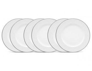 """Набор из 6 тарелок десертных Noritake """"Брум-стрит"""" 17см"""