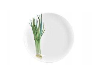 Тарелка закусочная Noritake Зелёный лук Баклажан 24см NOR1620-9181601