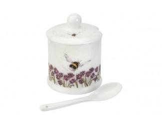 "Банка для специй с ложкой Royal Worcester ""Забавная фауна Пчела"" 110мл"