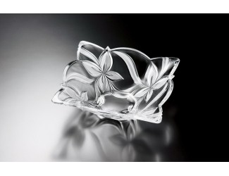 Ваза д/сервировки 29*29см АНГЕЛИНА матовое стекло Soga Glass A4022X