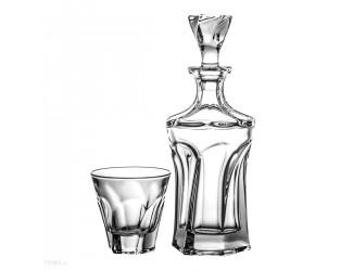 Набор для виски Crystalite Bohemia Apollo 7 предметов