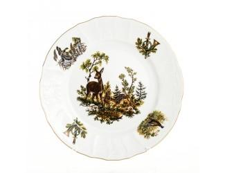 Набор тарелок 25см 6шт Bernadotte Охота
