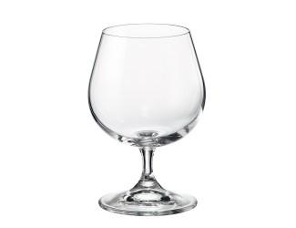 Набор бокалов для бренди Crystalite Bohemia Sylvia/Klara 400 мл (6 шт)