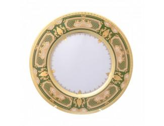 Набор тарелок 6шт 23см Falkenporzellan Donna Green gold