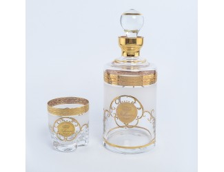 Набор для виски Трио Bohemia Версаче 7 предметов