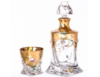 Набор для виски Bohemia Quadro 7 предметов