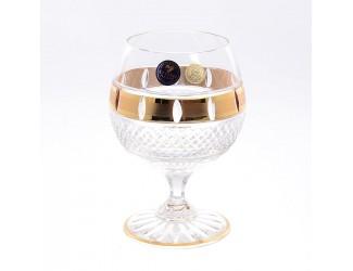 Набор бокалов для коньяка Crystal Heart 250мл (6 шт)