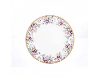 Набор тарелок 6шт 28см Falkenporzellan PBC-Carinzia Gold