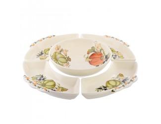 Набор салатников NUOVA CER Тыква из 5 предметов