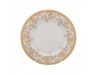 Набор тарелок 6шт 27см Falkenporzellan Constanza cream - Sophie Gold