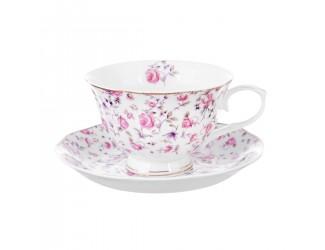 Чайная пара Royal Classics цветы 230мл