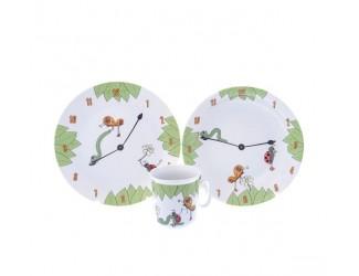 Детский набор Thun 3 предмета Часы