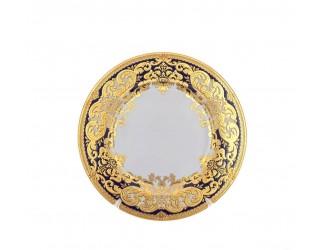 Набор тарелок 6шт 23,5см Falkenporzellan Favola Cobalt Gold