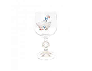 Набор бокалов для вина Клаудия AS Crystal Гуси 190 мл (6 шт)