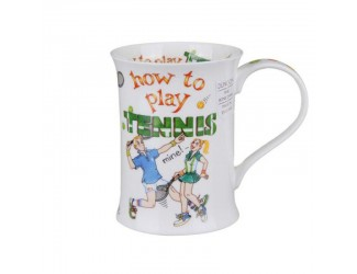 """Кружка """"Cotswold How to play Tennis"""" 330мл 10,6см"""