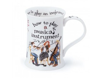 """Кружка """"Cotswold How to Play a Musical Instrument"""" 330мл 10,6см"""