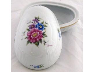 Бонбоньерка-яйцо 14см Hollohaza Hajnalka декор 1803