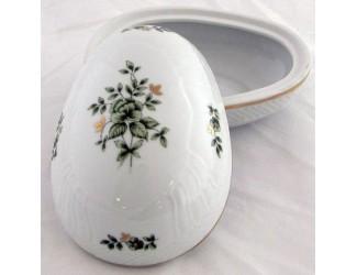 Бонбоньерка-яйцо 14см Hollohaza Erika декор 1945