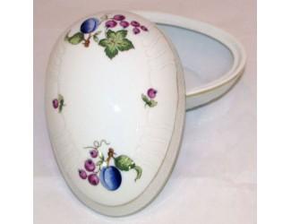 Бонбоньерка-яйцо 16см Hollohaza декор 2379