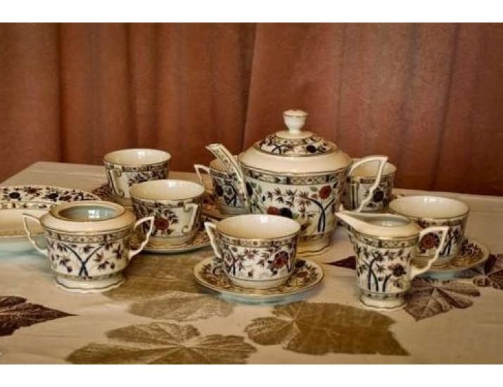 Чайный сервиз на 6 персон Zsolnay Феникс (без чайника)