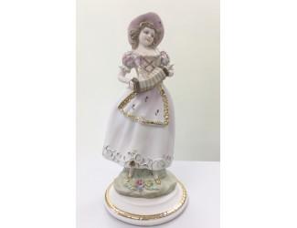 Статуэтка Девушка с гармоникой 32см Sabadin Vittorio 12375L
