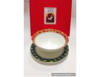 Набор 2 предмета салатник 18см+тарелка20см Japonica Alice(Алиса) 21688 RG