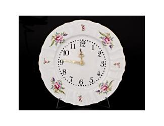Часы настенные 27см Bernadotte Мейсенский букет