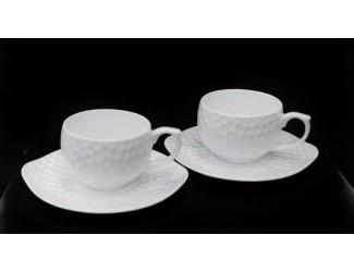 Набор чайных пар на 2 персоны 4 предмета 250мл Japonica Адамант JDSLF-3