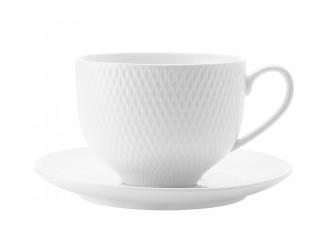 Чашка с блюдцем Maxwell & WilliamsДаймонд без инд.упаковки