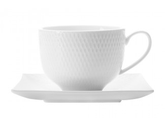 Чашка с квадратным блюдцем Maxwell & Williams Даймонд без инд.упаковки