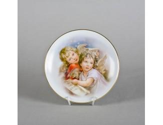 Тарелка Leander мелкая подвесная 21 см Ангелочки