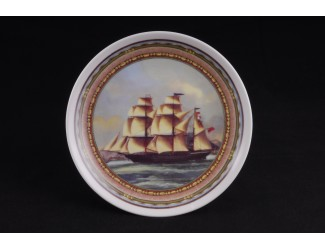 Тарелка Leander мелкая подвесная 21 см Парусники