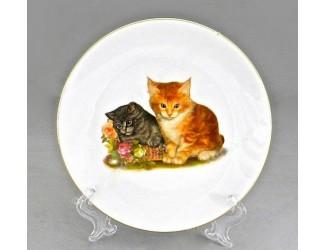 Тарелка Leander мелкая подвесная 19см Домашние любимцы котята