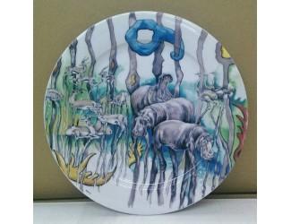 Тарелка для торта 27см Safari Leander Сабина