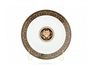 Блюдо круглое мелкое 30см Leander Сабина Версаче декор 172B