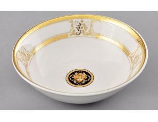 Салатник 16см Leander Сабина Золотая лента (Версаче) декор A126