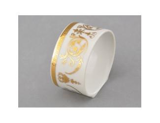 Кольцо для салфеток 1шт Leander Золотой орнамент декор 1373