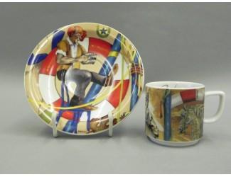 Кофейная пара 100мл Шапито Leander Сабина
