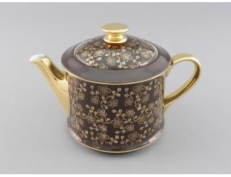 Чайник 0,40л Leander Виндзор, коричневый