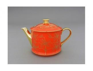 Чайник 0,40л Leander Виндзор оранжевый