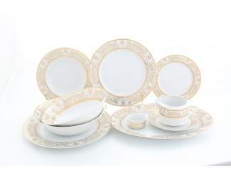 Сервиз столовый на 6 персон 24 предмета Leander Сабина Золотой орнамент декор 1373 02162124-1373