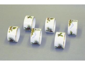 Набор колец для салфеток 6шт Leander Мэри-Энн Охота декор 0363