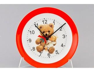 Часы настен. 24См Leander Мишки Тедди