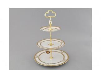 Горка Leander Сабина Золотая лента (Версаче) декор A126