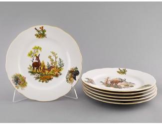 Тарелка мелкая 1шт 25 см Leander Мэри-Энн Охота декор 0363